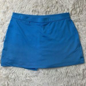 Adidas Clima Cool Golf Skirt Skort Blue